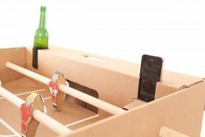 babyfoot iphone biere carton joueur bio recyclable geek