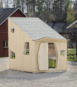 Smart Student Unit, une maison tout en bois pour étudiant hobbit...