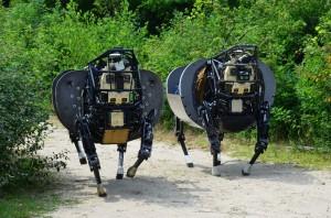Legged Squad Support System robot ane darpa quatre pates