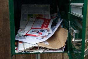 spam boite aux lettres
