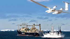 chasseurs de baleines drone sea sheperd