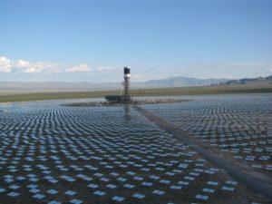 centrale electrique solaire Californie rayon de la mort miroir oiseaux désert des mojaves