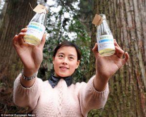 air en bouteille chine touriste