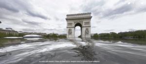 paris sous les eau rechauffement climatique
