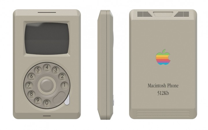 iphone vintage macintosh apple phone