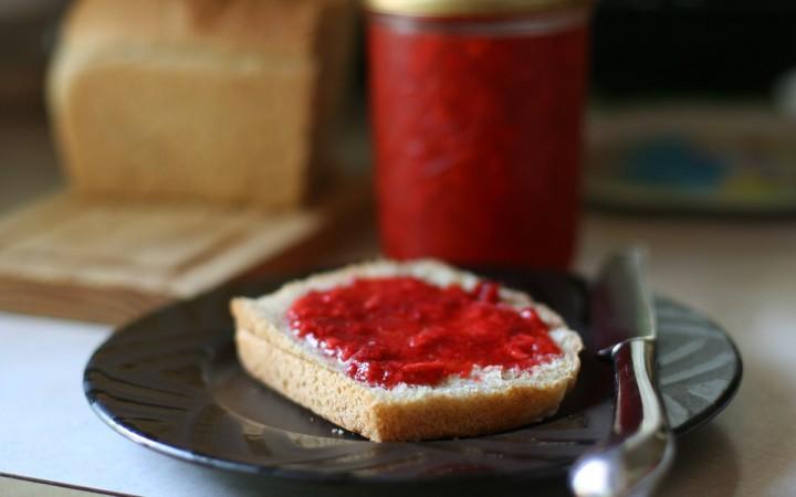 confiture pain petit dejeuner