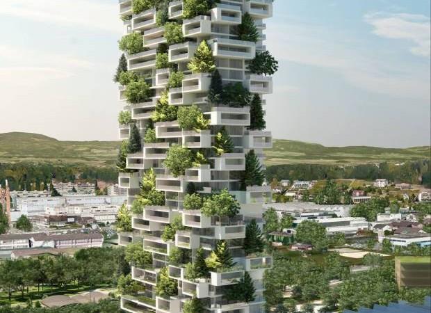 foret verticale ville immeuble