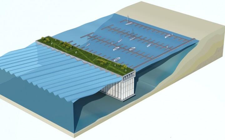 energie verte houlomotrice port bateau