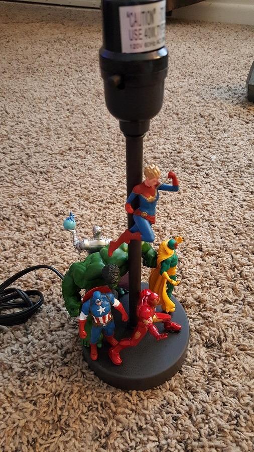lampe super heros diy 3