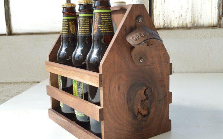 porte biere bois diy