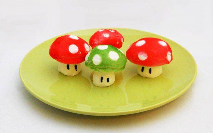 meringue mario champignon