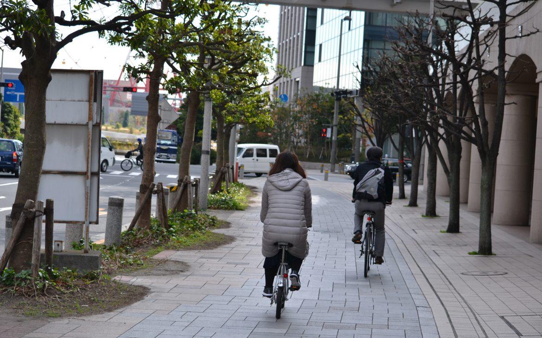 rue de tokyo propre vélo