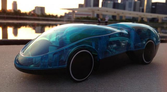 une petite voiture lectrique qui se recharge l 39 eau et au soleil geek et bio. Black Bedroom Furniture Sets. Home Design Ideas