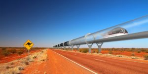 hyperloop australie route