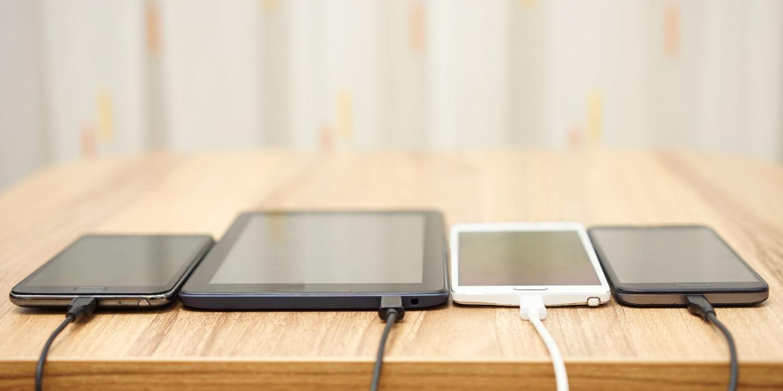 chargeur téléphone tablette
