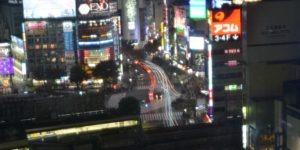 shibuya croisement tokyo japon