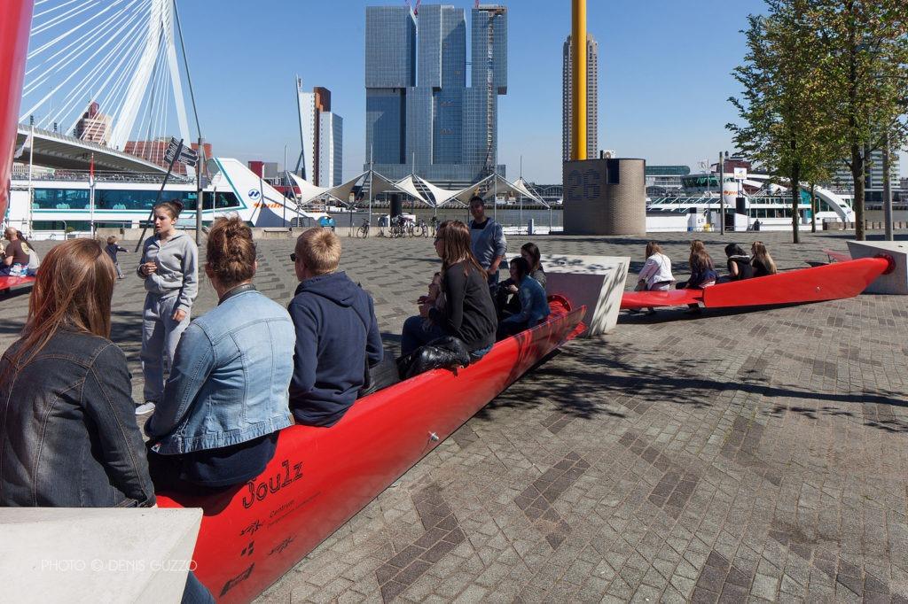 recyclage éolienne mobilier urbain