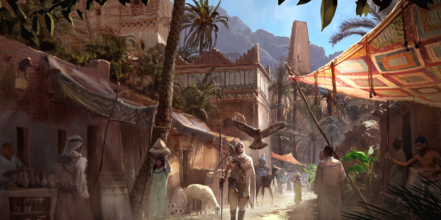 assassin's creed origin artwork