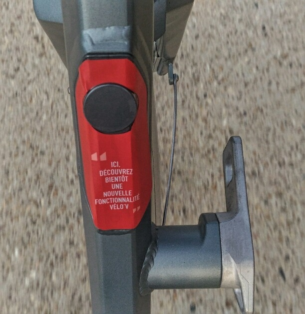 Vélo'v Lyon fonctionnalités à venir