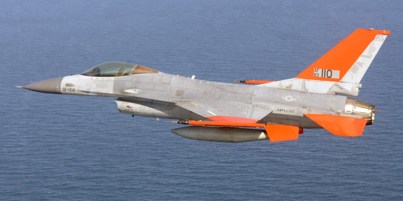 F-16 en cibles autonomes