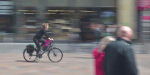 Vélo effet vitesse ville